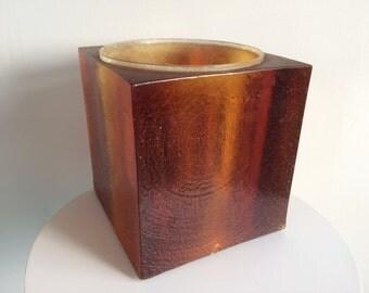 Modern Resin Square Vase