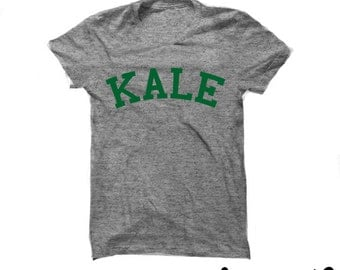 Kale Green Shirt - Kale Shirt  - Graphic Tee