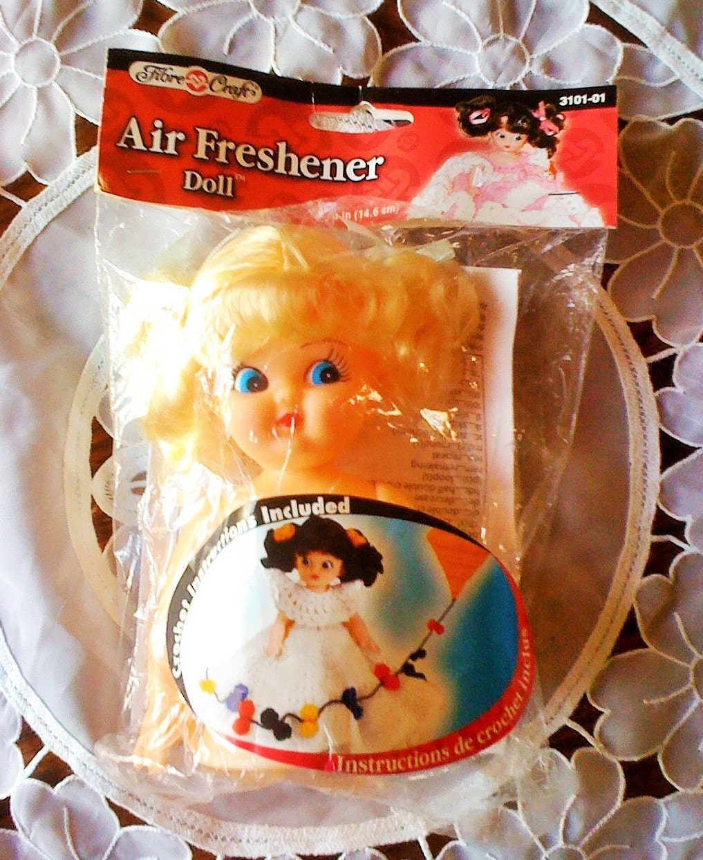 Fibre craft air freshener dolls - Sold By Oldfarmhousevintage