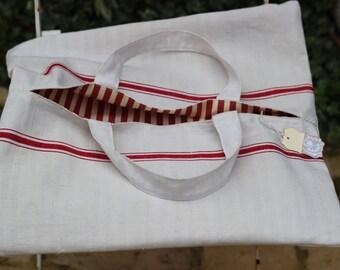 handbag cake linen former former cloth linen battens Red