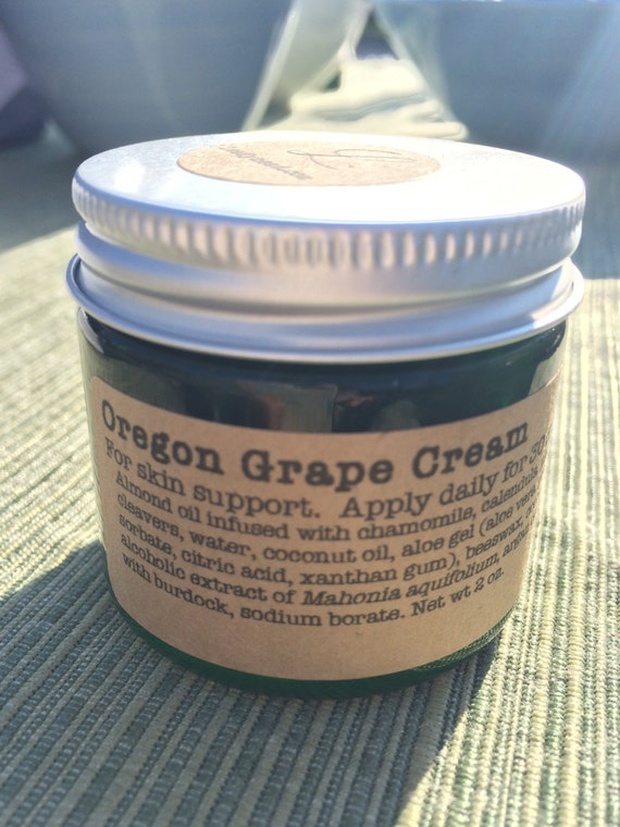 Oregon grape cream for psoriasis