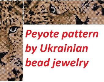 Bead patterns bracelet tutorial leo skin leopard Beaded Jewelry peyote pattern animal pattern wide cuff animal print leo pattern cat pattern
