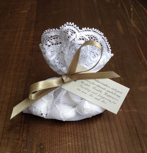 Items Similar To Lace Favor Bag Italian Wedding Favors Jewelry Pouches Italian Wedding Candy