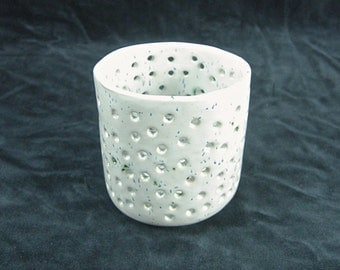 Ceramic Candle holder, Candle holder