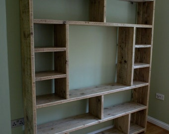 Large bookcase with space for Tv or Buddhist shrine!
