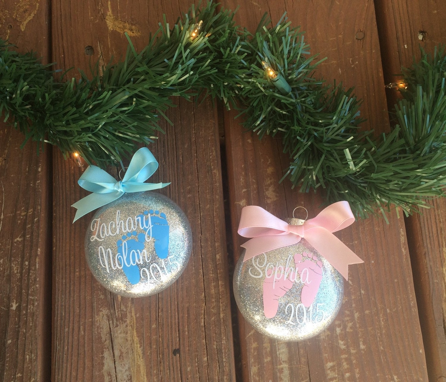 Baby's First Christmas Ornament Personalized Baby