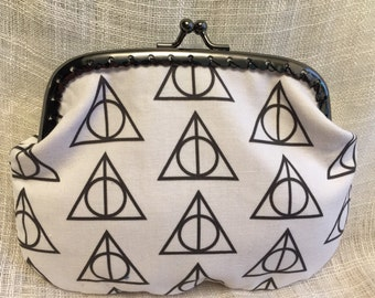 Large Deathly Hallows Coin Purse