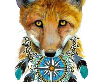 Native fox -Original-