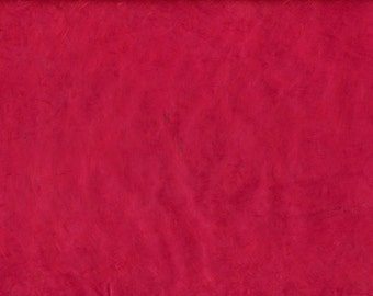 Handmade Lokta Paper from Nepal red