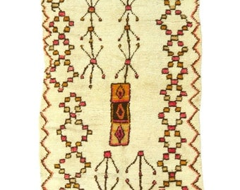 Exceptional Large Vintage Moroccan Azilal Runner