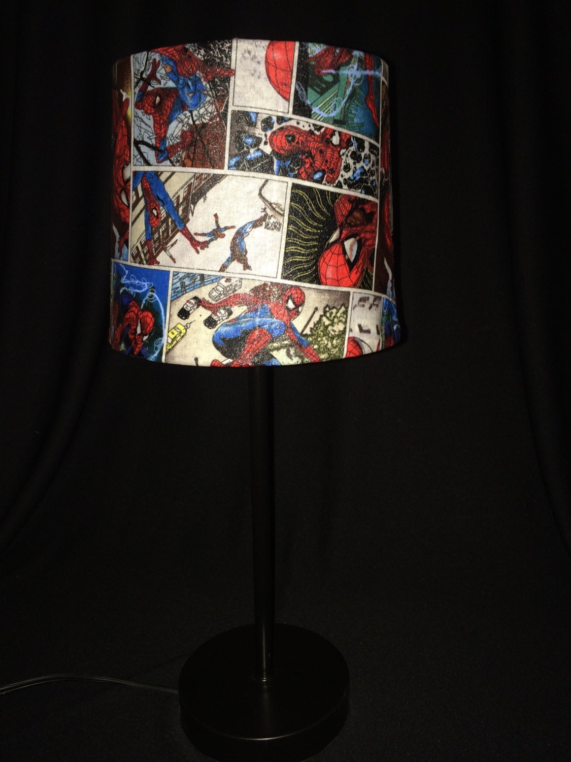 Spiderman Lamp Spider Man Lamp Peter Parker Lamp By