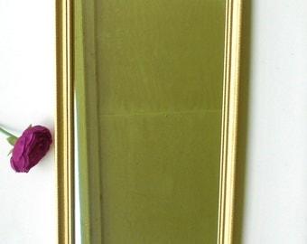 Narrow wall mirror etsy for Narrow decorative mirrors
