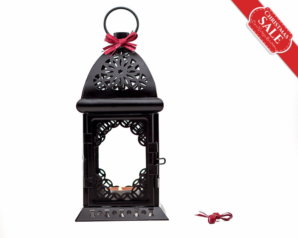 black and white wedding candle lantern centerpiece morrocan. Black Bedroom Furniture Sets. Home Design Ideas