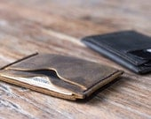Wallet, The Inside Out Men's Leather Wallet, Minimalist Wallets, Groomsmen Gifts, Leather Wallets, Listing# 061 - The Wallet of The Year
