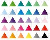 50% OFF SALE Triangle Cli...