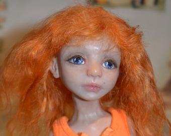 Artisan bjd handsculpted polymer clay doll OOAK