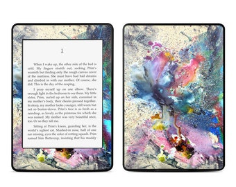 Amazon Kindle Skin - Cosmic Flower by Creative by Nature - Sticker Decal - Fits Paperwhite, Fire, Voyage, Touch, Oasis
