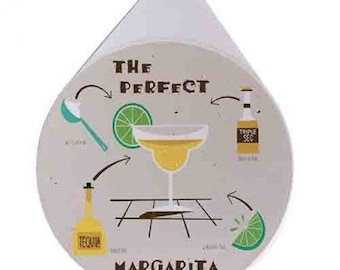 The Perfect Margarita - Glass Rimmer Lid / Glass Rimmer