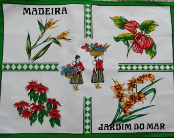 Madeira Sweet Souvenir Tea towel - FREE POSTAGE