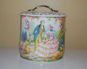 Murray Allen Regal Crown Candy Tin