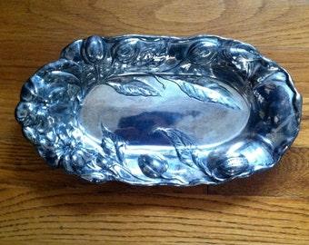 Repousse Platter
