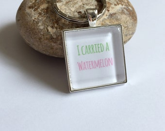 I carried a watermelon - Dirty Dancing inspired keyring
