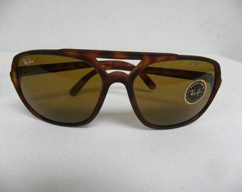 New Vintage B&L Ray Ban Timberline II Matte Tortoise B-15 W0746 Sunglasses usa