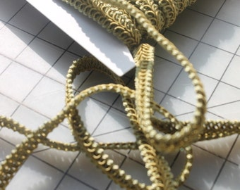 Sage Classic Woven Braided 1/2 Inch Gimp/Sewing/Crafting/Upholstery/Finishing Heavy Quality Trim, Wholesale Supplies Braided Gimp Trim