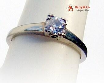 SaLe! sALe! Solitaire Diamond Ring 18 K Gold