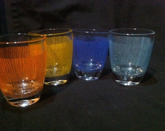 Set of 4 Small French liqueur Glasses