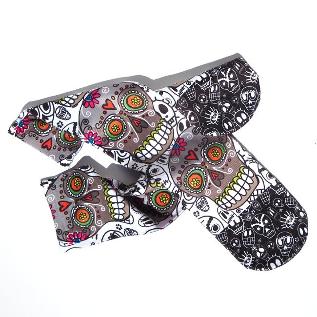 Day of the Dead Sugar Skulls Tube Socks