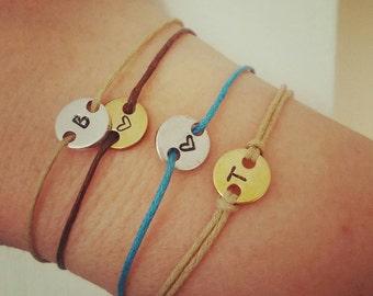 Fijne armband met bedel   gepersonaliseerde armband   valentijnsdag   cadeau voor haar