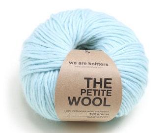 100% Petite Peruvian Wool -  Aquamarine