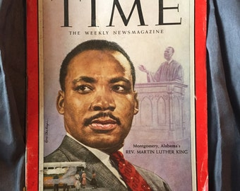 Martin Luther King 1957 Time magazine