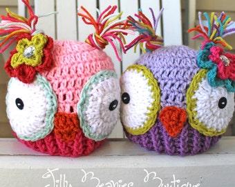 Owl Hat, Animal Hats, Kids Hats, Children Hats, Toddler Hats, Boy Hats, Girl Hats, Adult Hats, Halloween Hats, Winter Hats