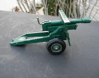 Britains Deetail Vintage SAS Mobel Field Artillery 25 Pander No. 9705 Diecast 1:32 Made in England