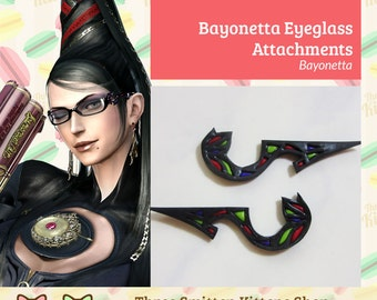 Bayonetta Eyeglasses (Ornaments Only)