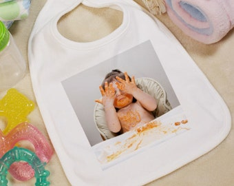 Personalized Picture Perfect Photo Bib