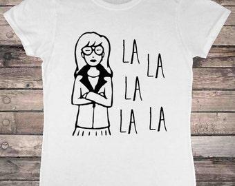 Daria La La Theme Song Retro 90s T-Shirt