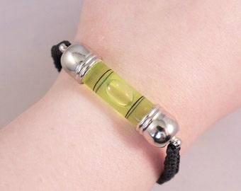 Spirit Level Adjustable Bracelet