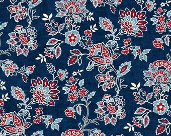 Studio E Fabrics - American Folk Blue E3212 77 - Quilting Fabric