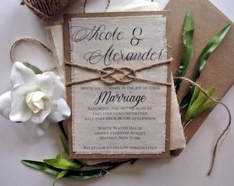Rustic Etsy Wedding Invitation, Burlap Wedding Invitations, Blush Wedding Invitations, Boho Wedding Invitations, Rustic Wedding Ideas