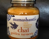 mamashanti's original very pleasing organic golden turmeric chai