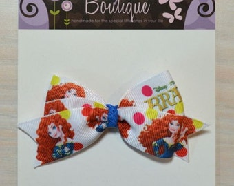 Boutique Style Hair Bow - Merida, Brave
