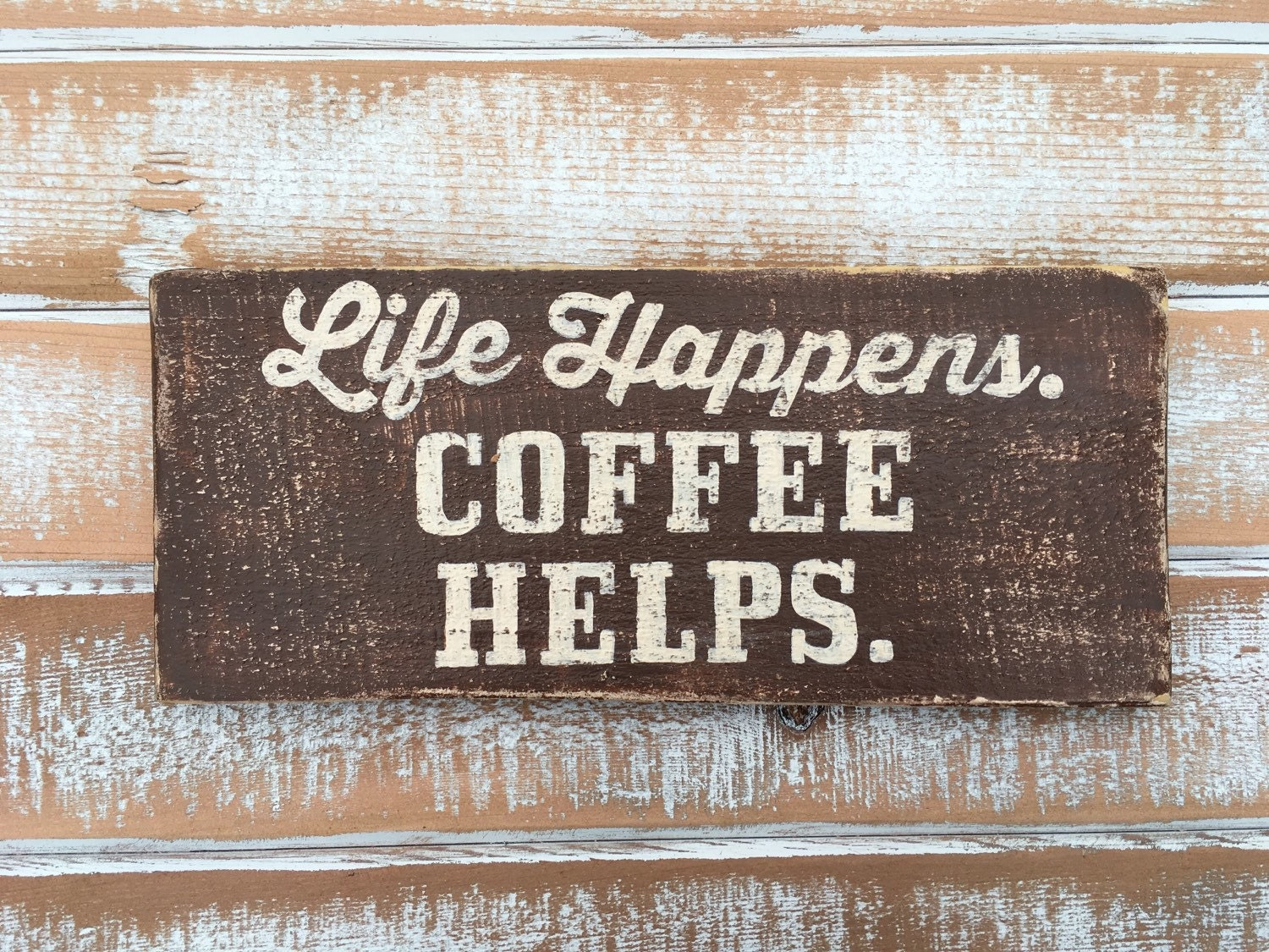 Coffee Sign Coffee Decor Kitchen Decor Cafe Sign By