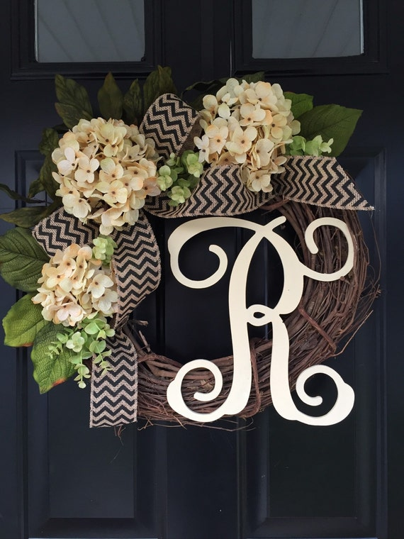 All Year Long Wreath Gift Ideas Monogram Wreath Wreath