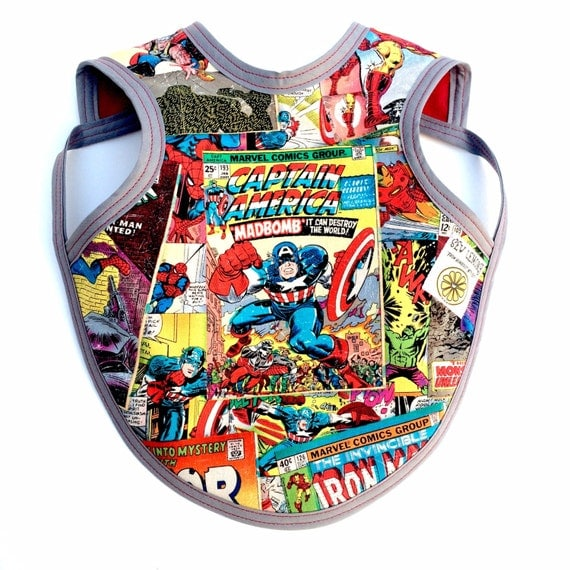 ic Baby Bib captain America ic Clothes ic by SewLemony