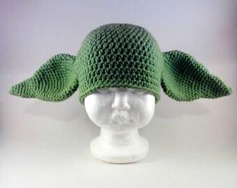 Yoda Hat - Dobby Hat - Yoda Ears - Dobby Ears - Yoda Costume - Dobby Costume - Goblin Ears - Gremlin Ears
