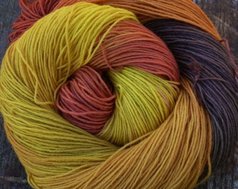 PURE MERINO 4ply / fingering superwash 100 gms 400 mts Mollycoddle Yarns, hand dyed wool yarn