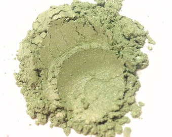 LIME SPRITZ Mineral Eye Shadow - Natural Makeup - Gluten Free Vegan Face Color